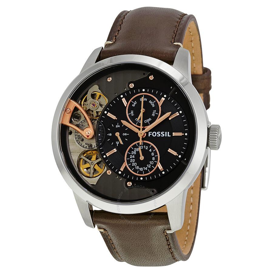 Fossil townsman chronograph men 39 s watch me1163 townsman fossil watches jomashop for Fossil watches