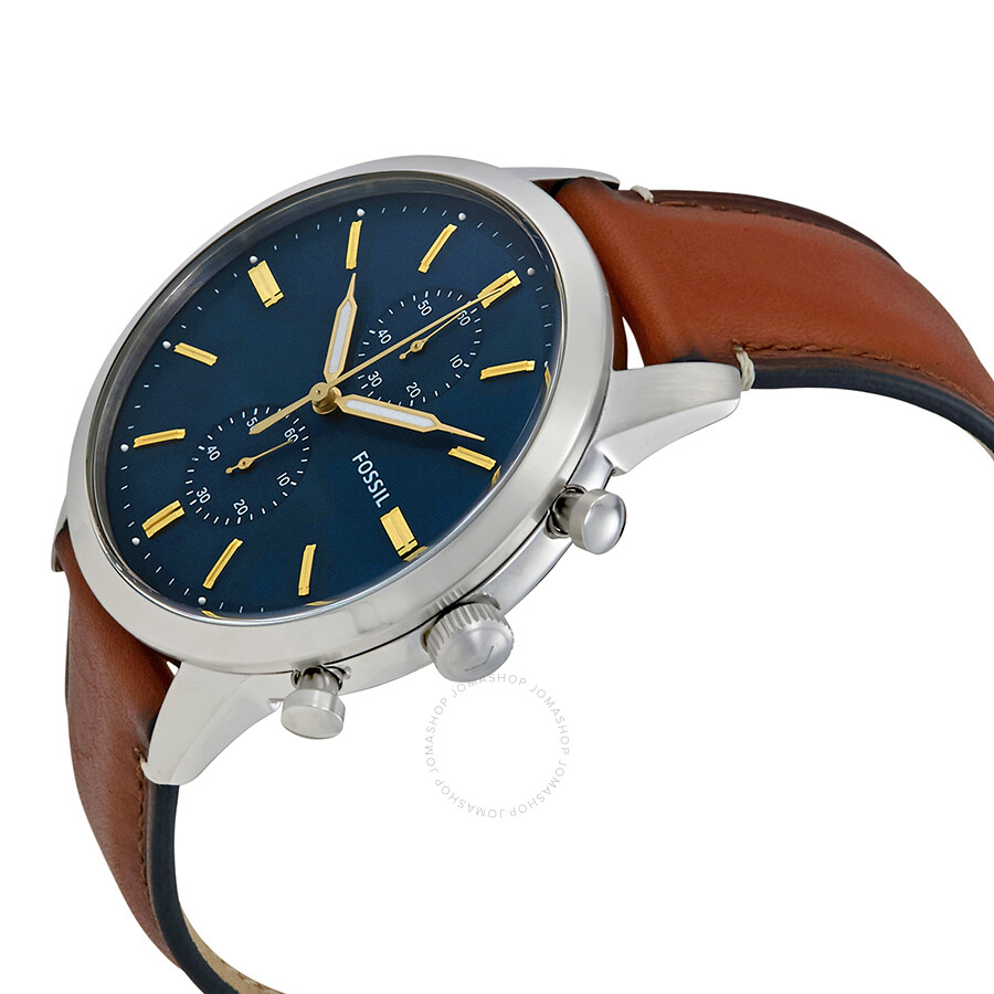 e0b8115b7321 Fossil Townsman Blue Dial Men s Chronograph Watch FS5279 - Townsman ...
