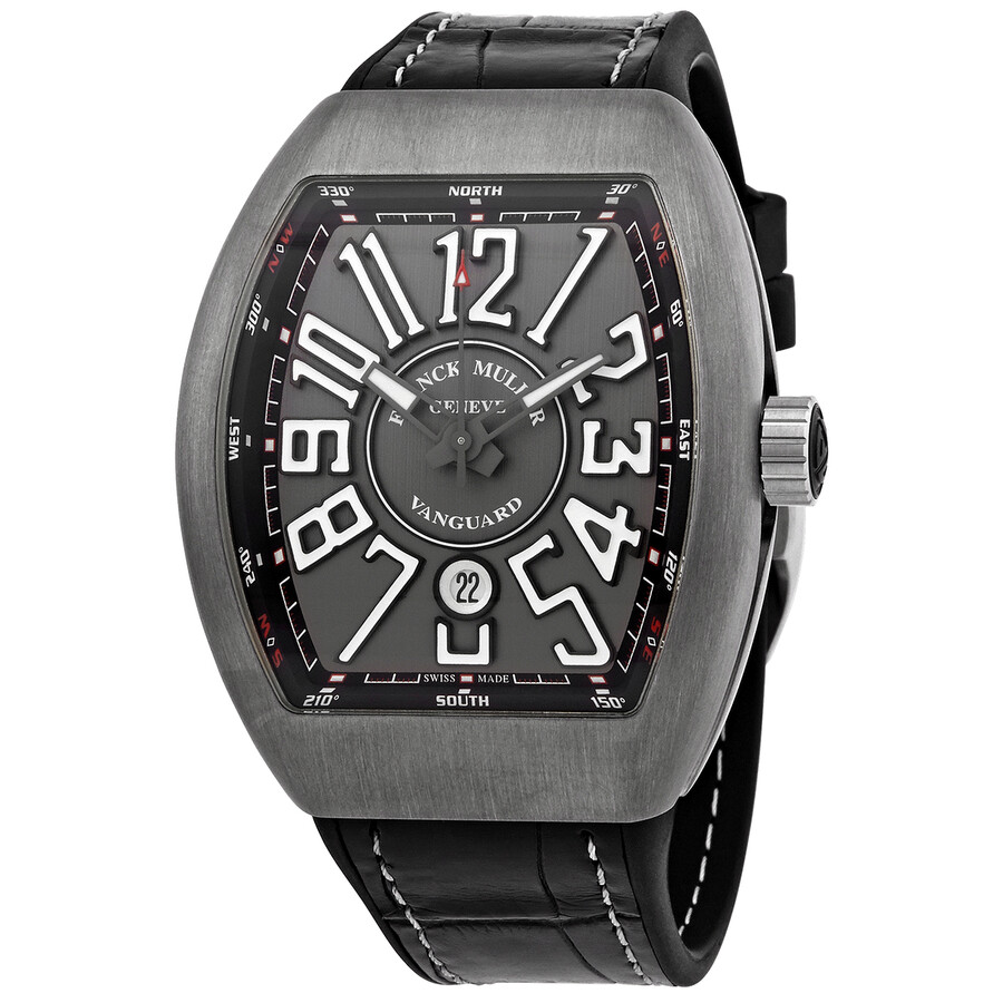 Franck muller vanguard automatic men 39 s watch 45scttbrnrgrywh franck muller watches jomashop for Franck muller watches