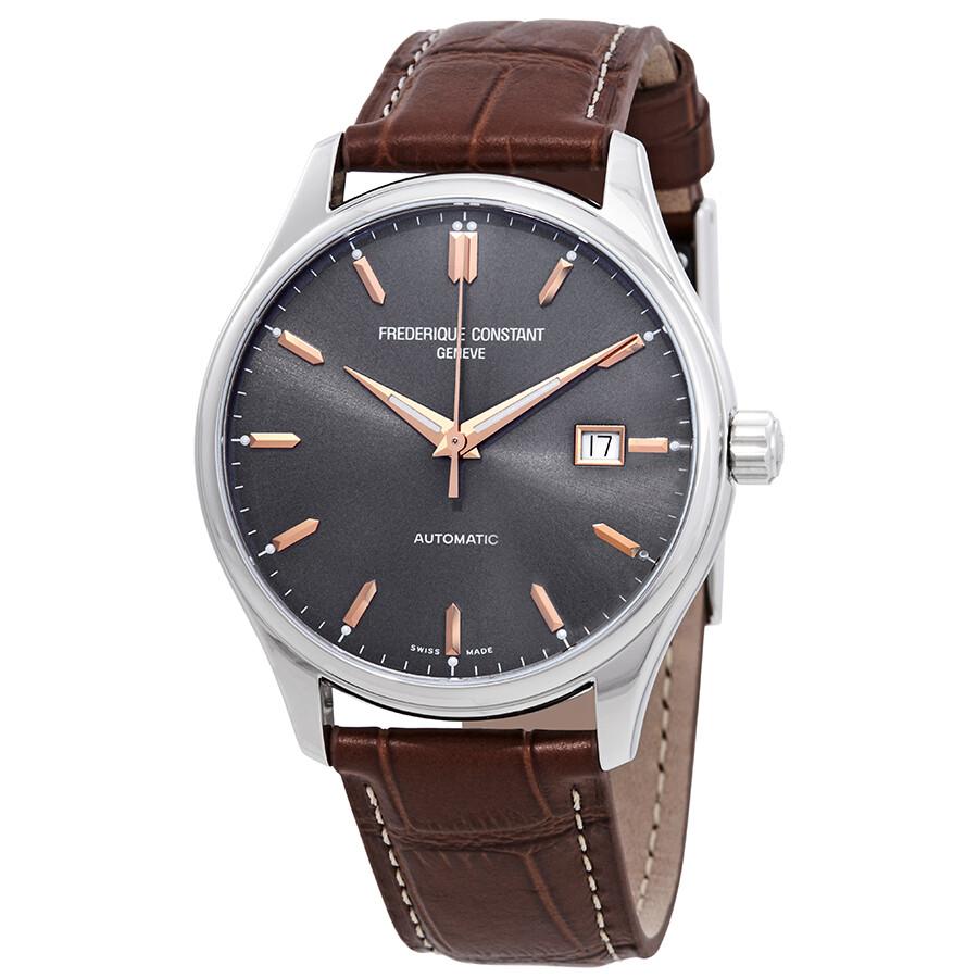 Frederique Constant Classics Automatic Grey Dial Men s Watch FC-303LGR5B6  ... 5ac7bd0b352
