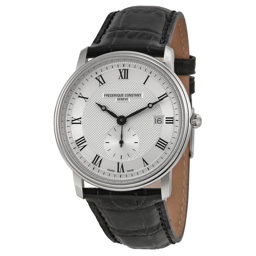 Frederique Constant Classics Silver Dial Men's Watch FC ...