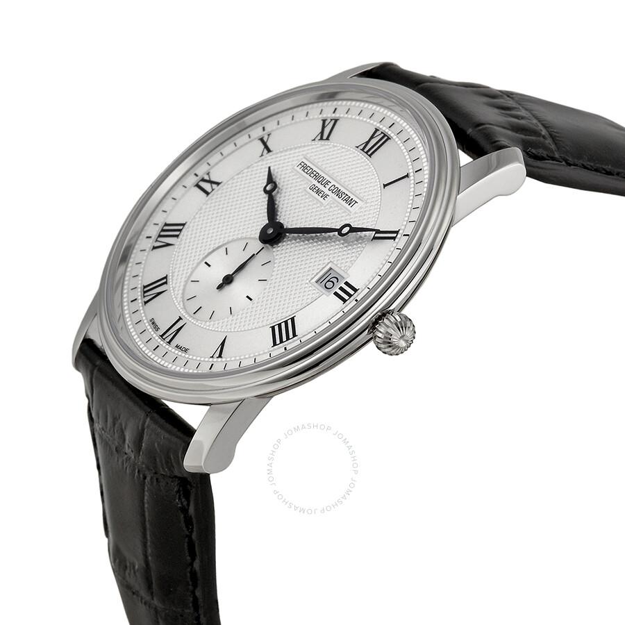 Frederique Constant Classics Silver Dial Men's Watch ...