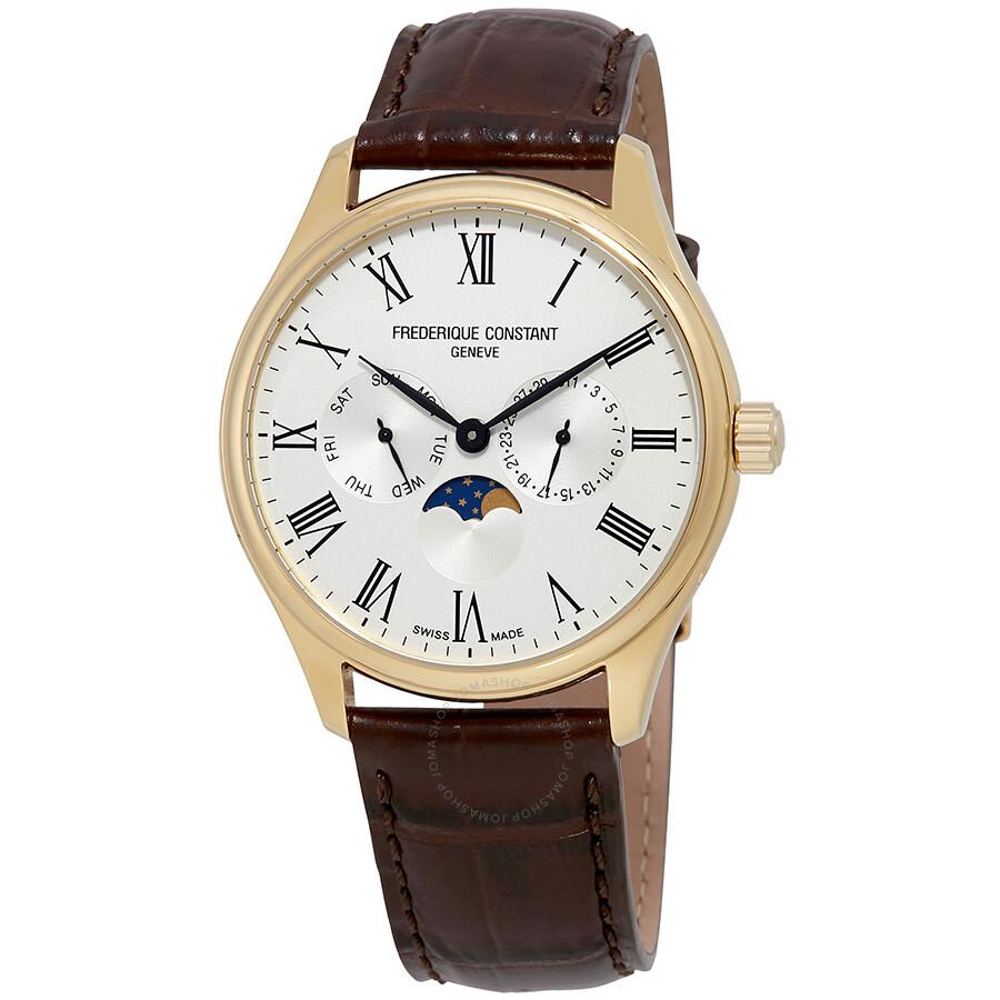 Frederique Constant Classics Silver Dial Men s Watch FC-260WR5B5 ... 1a00dc7fb92