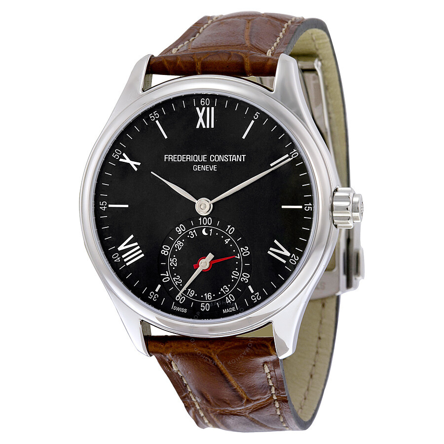 Frederique Constant Horological Smart Watch Black Dial Men s Watch  FC-285B5B6 ... fa8ee3cc206