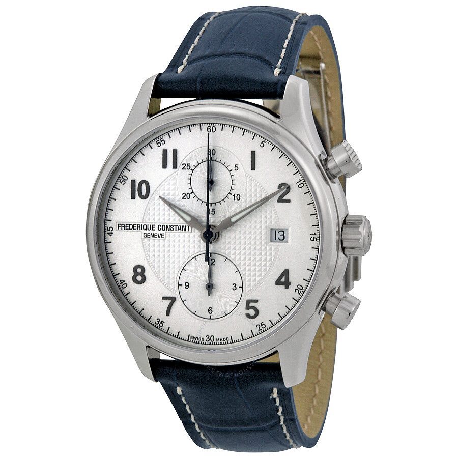 Frederique Constant Runabout Chronograph Automatic Silver ...