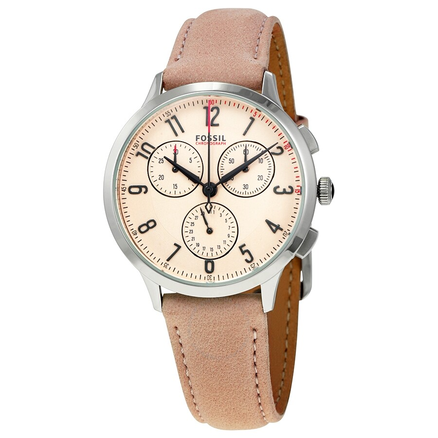 Fossil abilene chronograph pink dial ladies watch ch3088 abilene fossil watches jomashop for Fossil watches