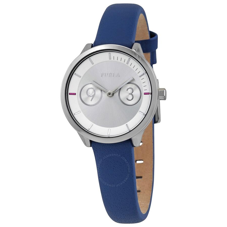 bd0586de86 Furla Metropolis Silver Dial Ladies Watch R4251102508 - Furla ...