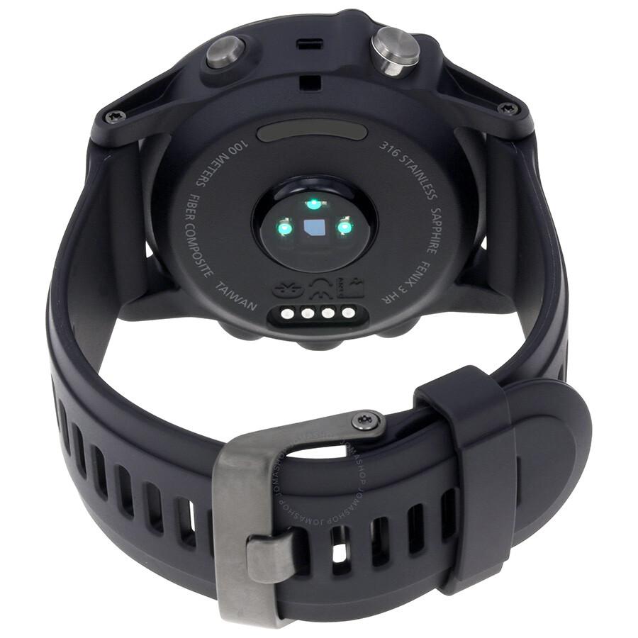 Garmin Fenix 3 HR Smart Watch - Black
