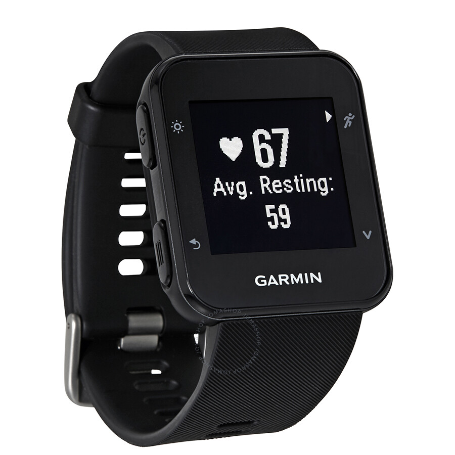 Garmin forerunner 35 smart watch black smartwatch garmin watches jomashop for Watches garmin
