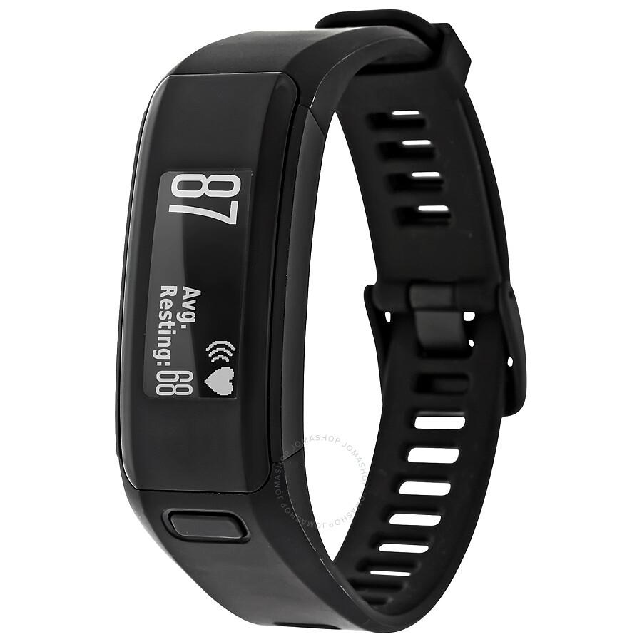Garmin vivosmart hr activity tracker smart watch black smartwatch garmin watches jomashop for Garmin watches