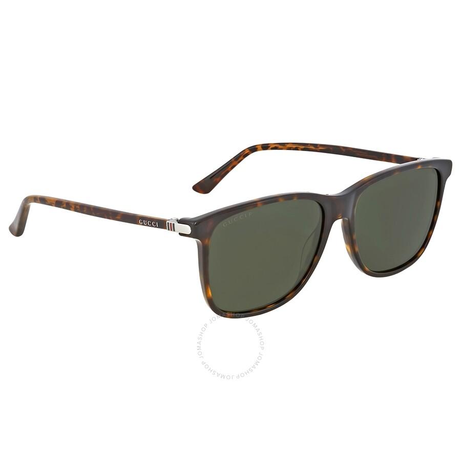 b4c9323f1a9 Gucci Polarized Green Havana Sunglasses - Gucci - Sunglasses - Jomashop