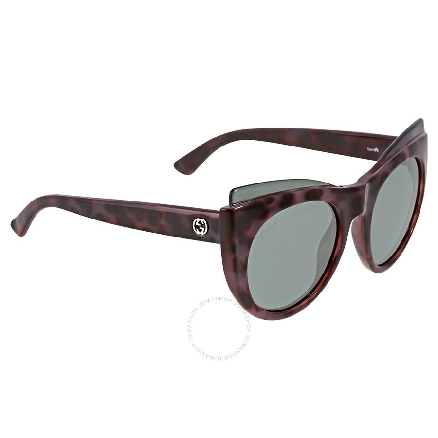 b63a6af2472a9 Gucci Pink Havana Cat Eye Sunglasses Gucci Pink Havana Cat Eye Sunglasses  ...