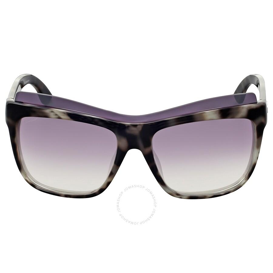 023493255d Gucci White Havana Cat Eye Sunglasses - Gucci - Sunglasses - Jomashop
