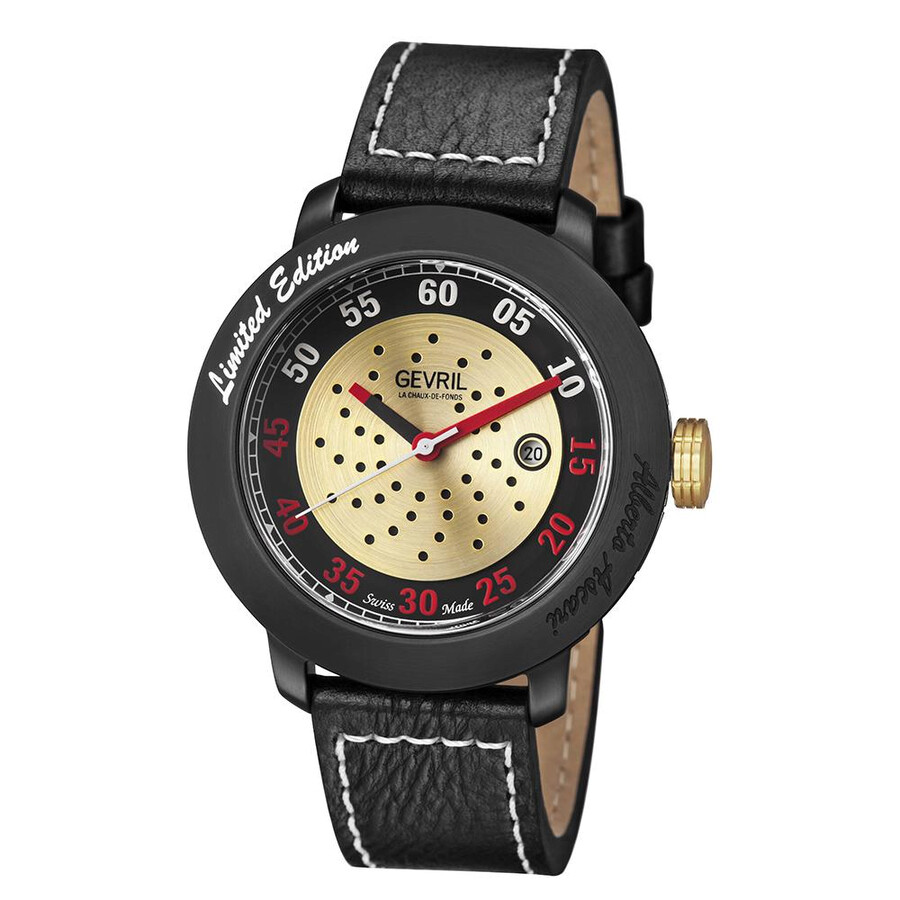 Gevril alberto ascari men 39 s watch 1102 gevril watches jomashop for Gevril watches