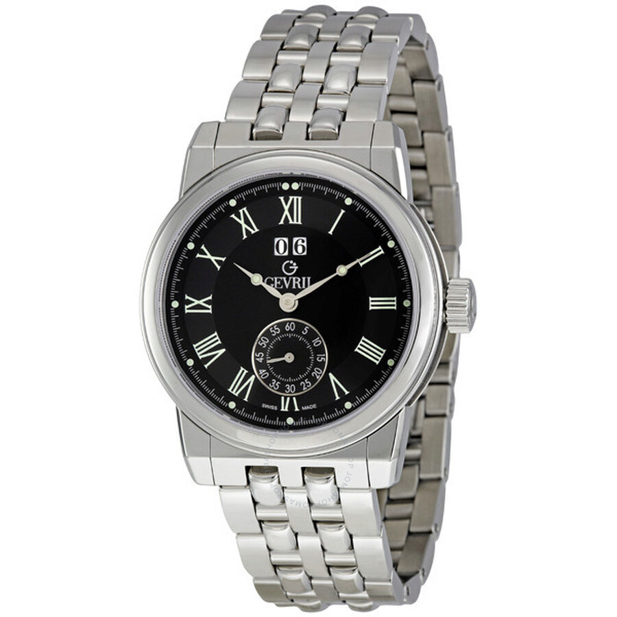 Gevril broadway limited edition men 39 s watch n2506b gv2 by gevril watches jomashop for Gevril watches