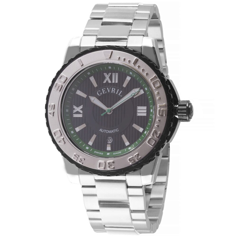 Gevril seacloud automatic men 39 s watch 3111b gevril watches jomashop for Gevril watches