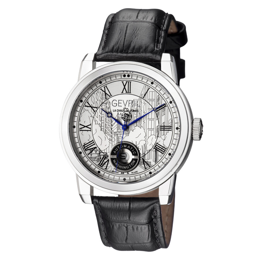 Gevril washington automatic men 39 s watch 2620l gevril watches jomashop for Gevril watches