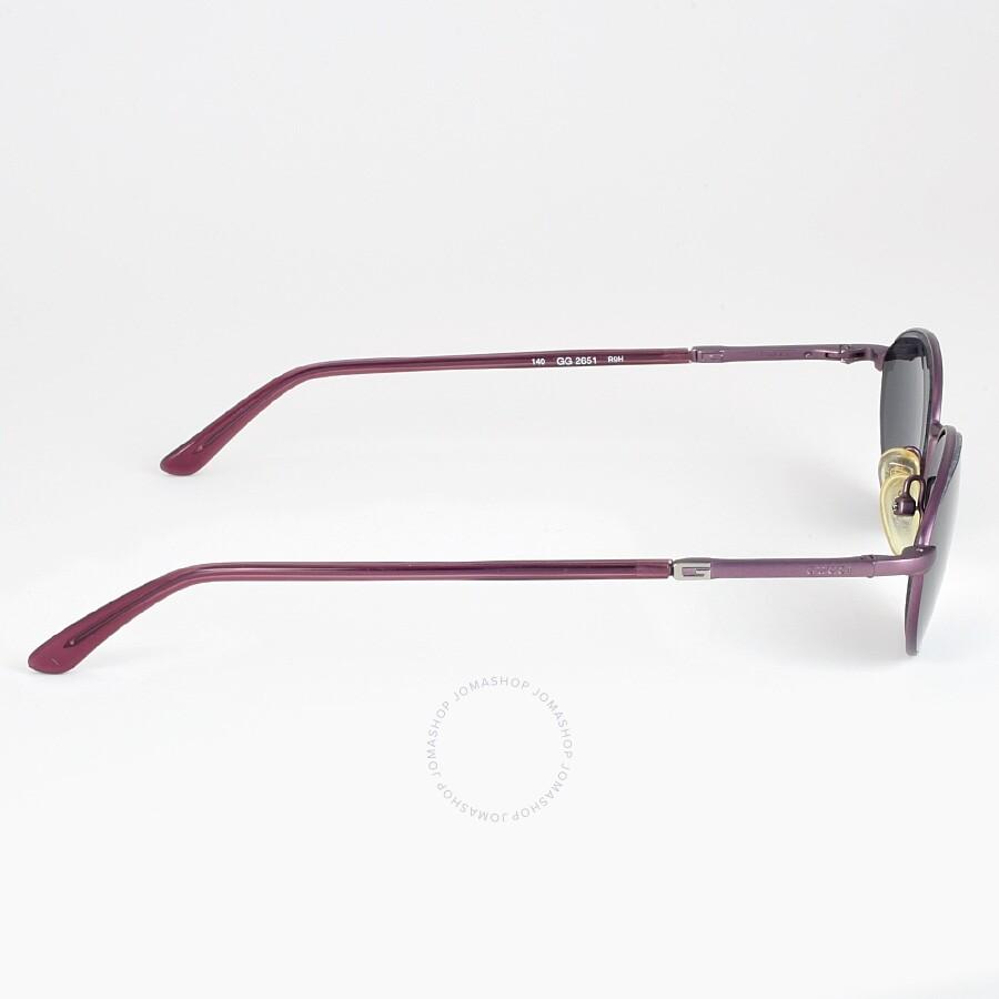 Gucci 48mm Violet Oval Lense Unisex Sungalsses 2651