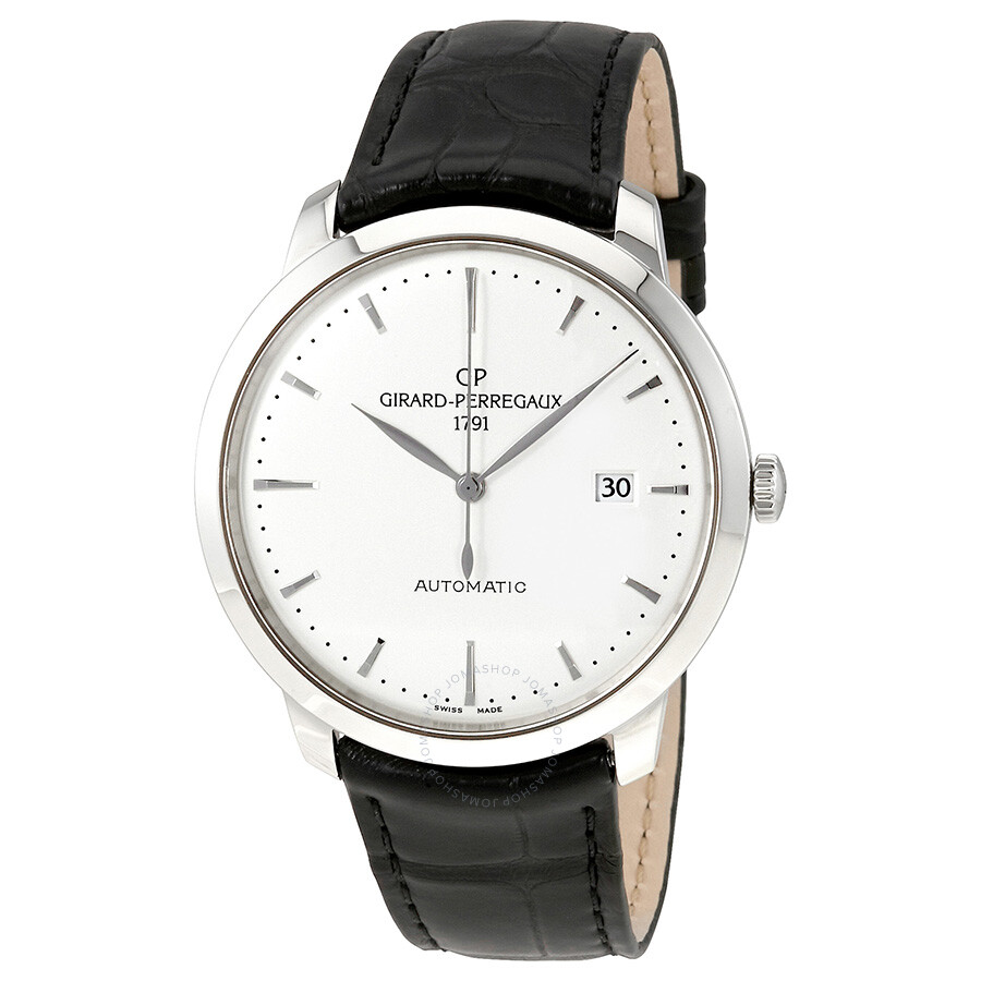 Girard perregaux 1966 automatic men 39 s watch 49555 11 131 bb60 girard perregaux 1966 girard for Girard perregaux