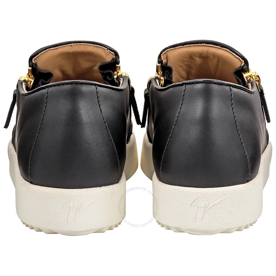 77250b91a90dc Giuseppe Zanotti Ladies Black Logo Skate Shoes- Size 38 - Designer ...