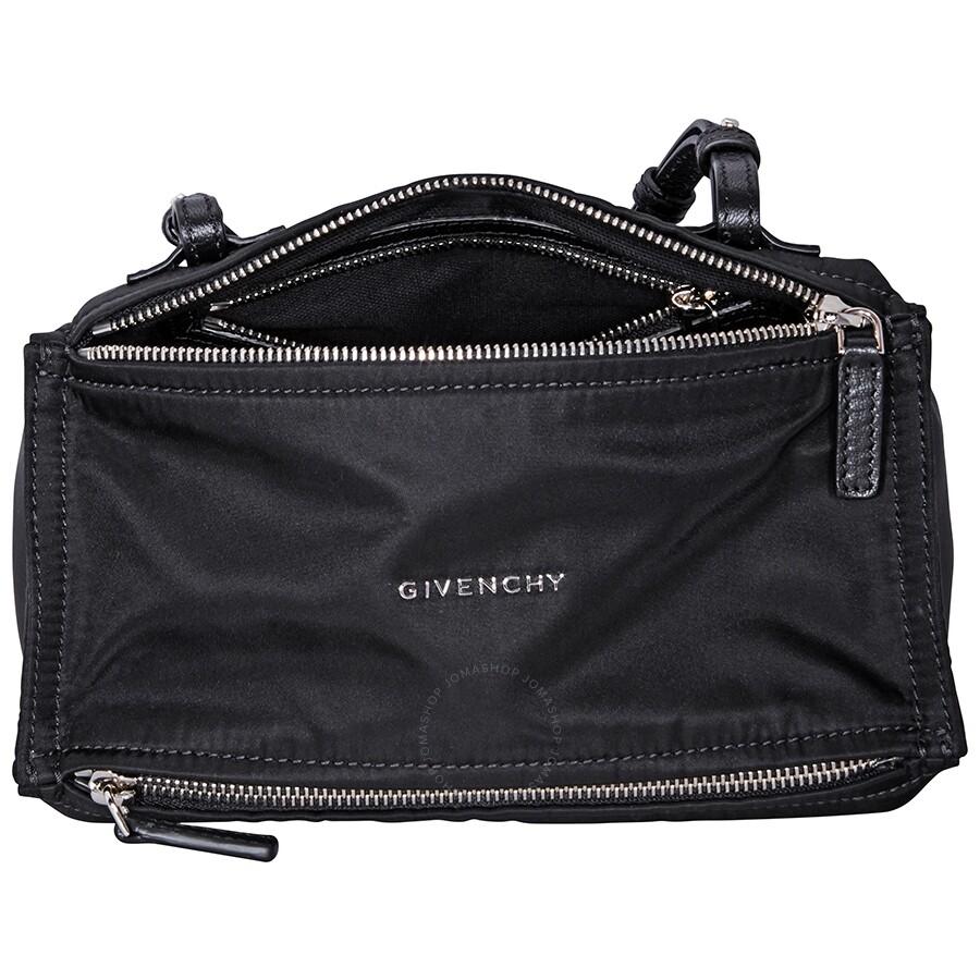 c9d27a82f0 Givenchy 4G Mini Pandora Bag in Nylon- Black - Givenchy - Handbags ...