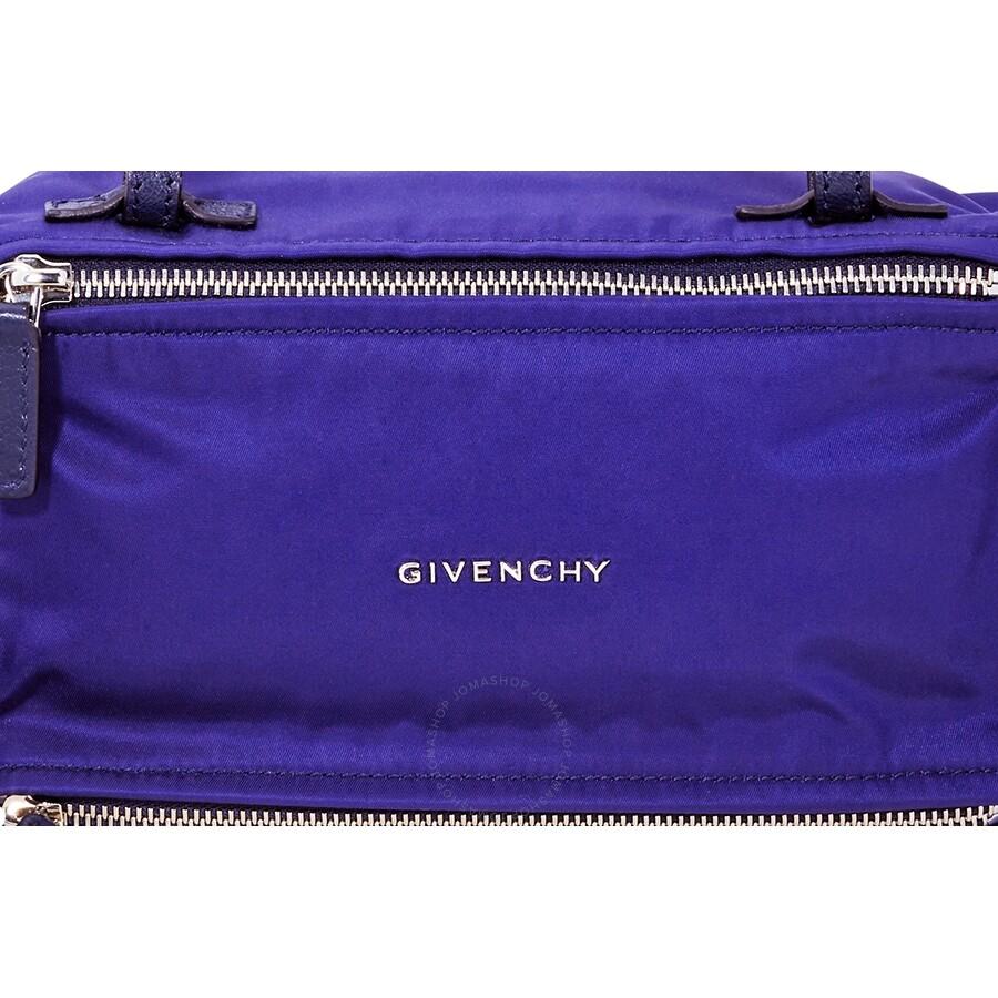2c1fd10a84 Givenchy 4G Mini Pandora Bag in Nylon- Blue - Givenchy - Handbags ...