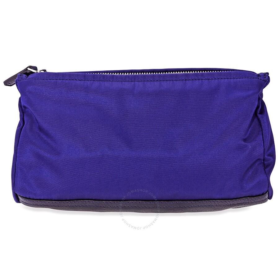 629392863a Givenchy 4G Mini Pandora Bag in Nylon- Blue - Givenchy - Handbags ...