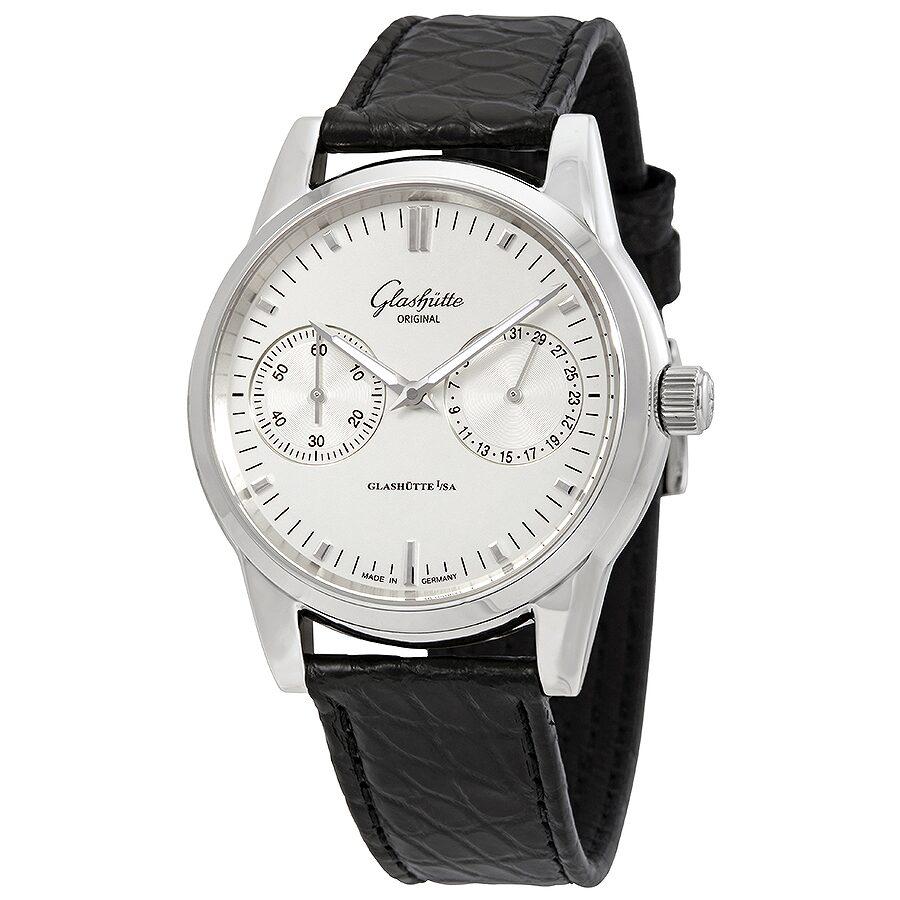 9f49e4031e8c Glashutte Senator Silver Dial Automatic Men's Watch 39-58-02-02-04 ...