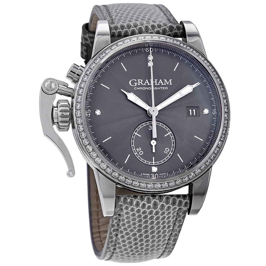 e22a4513d Graham Chronofighter 1695 Romantic Automatic Grey Dial Men's Watch  2CXNS.A01A.
