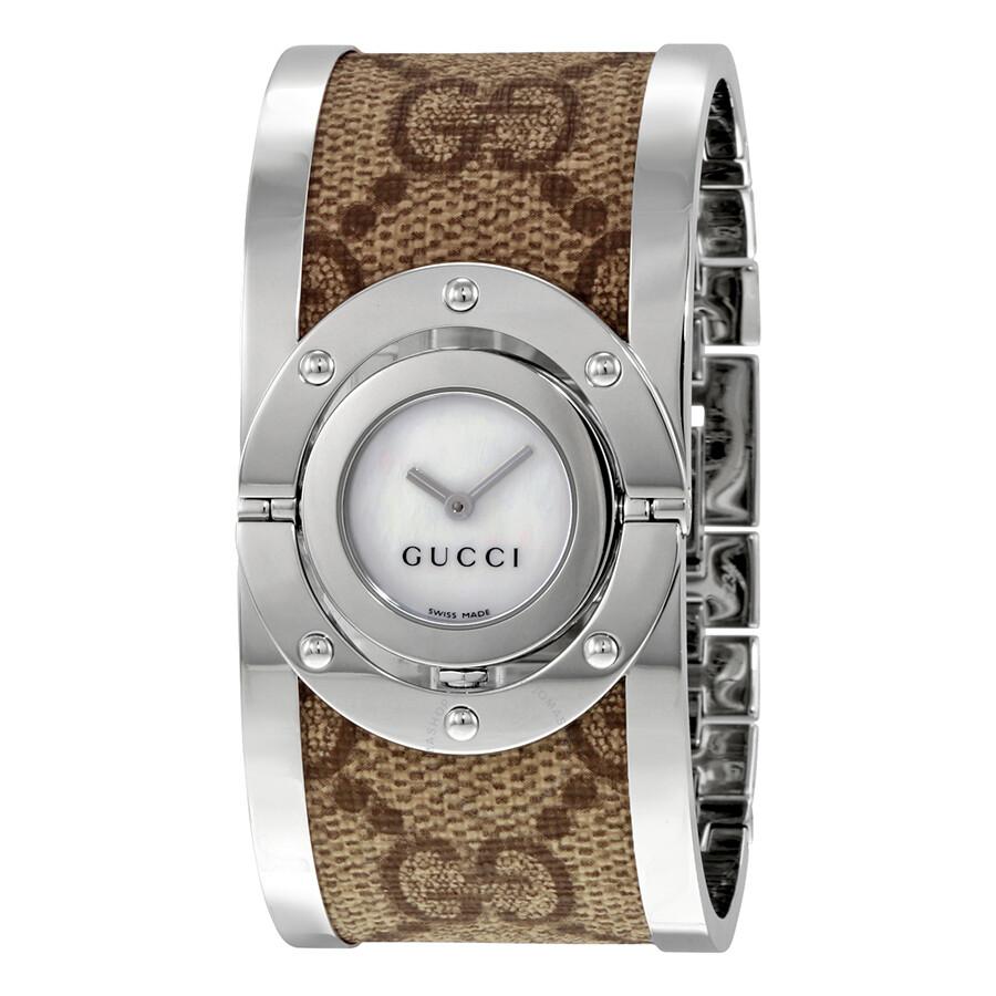 232019877c4 Gucci 112 Twirl Bangle Ladies Watch YA112418 - Twirl - Gucci ...