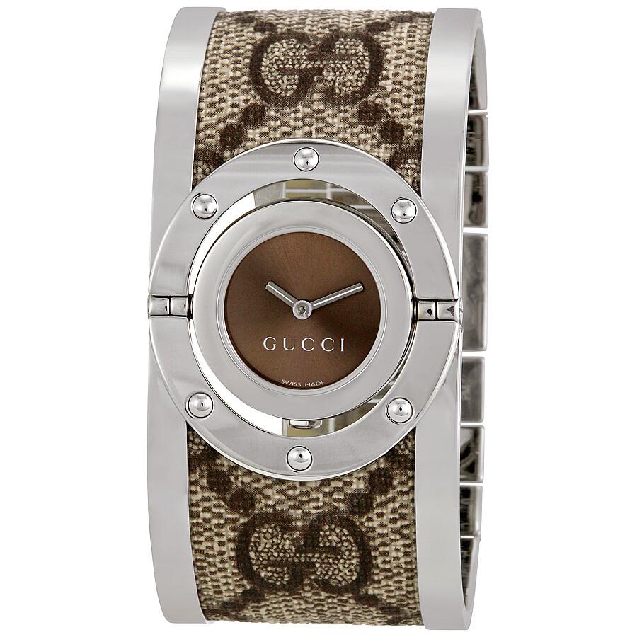 9a61f21545b Gucci 112 Twirl Bangle Ladies Watch YA112425 - Twirl - Gucci ...