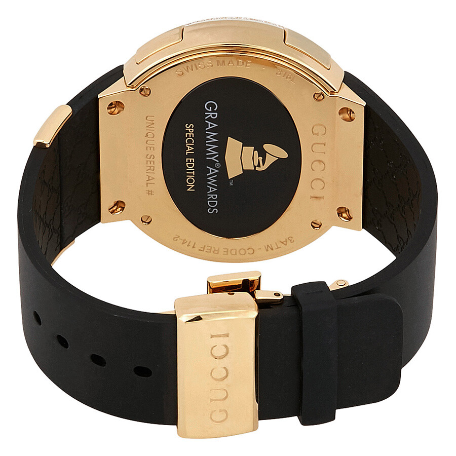 82f3ee706015e Gucci 114 Grammy Music Awards Special Edition Men s Watch YA114217 ...