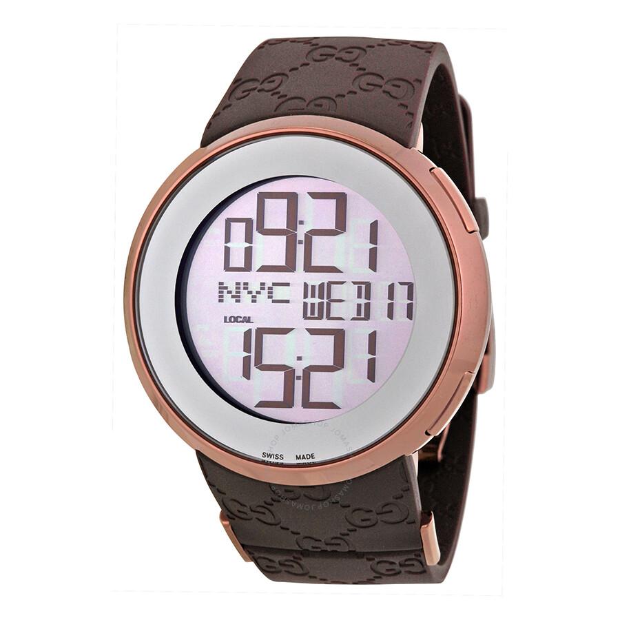 a87db5ed40b9a Gucci 114 I-Gucci Men s Digital Watch YA114209 - I-Gucci - Gucci ...