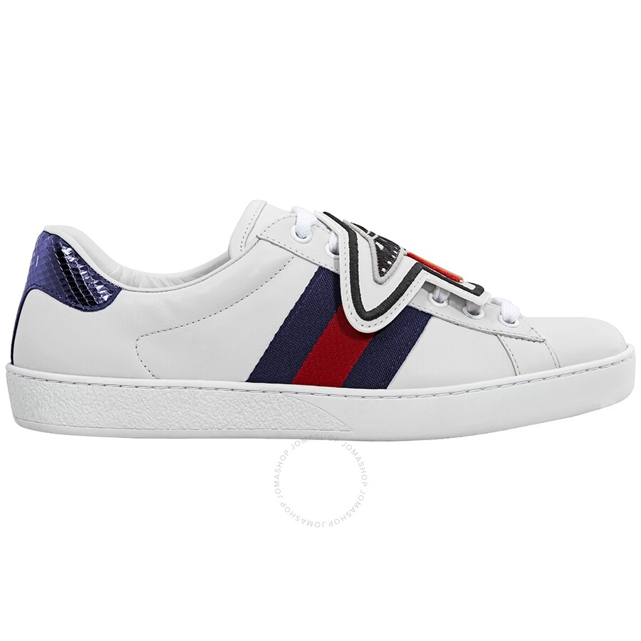 c18b5223664 Gucci Ace Sneaker with Removable Patches GC478191DOPH09070 - Shoes ...