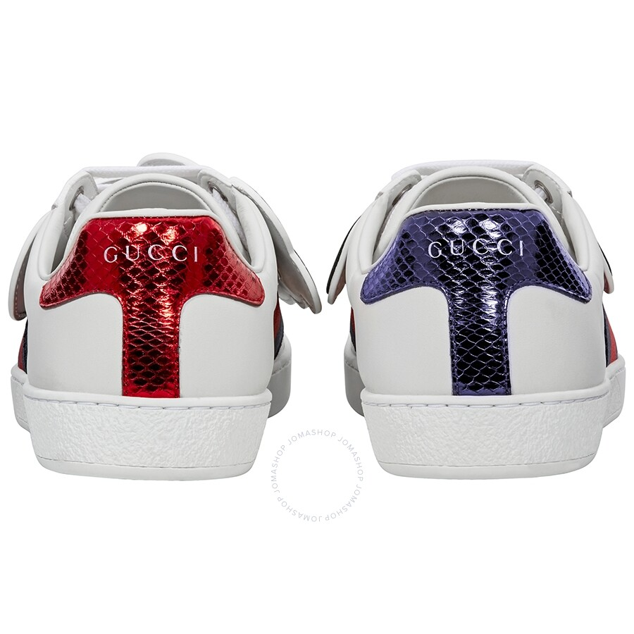 e642462a93f ... GC478191DOPH09070 Gucci Ace Sneaker with Removable Patches  GC478191DOPH09070