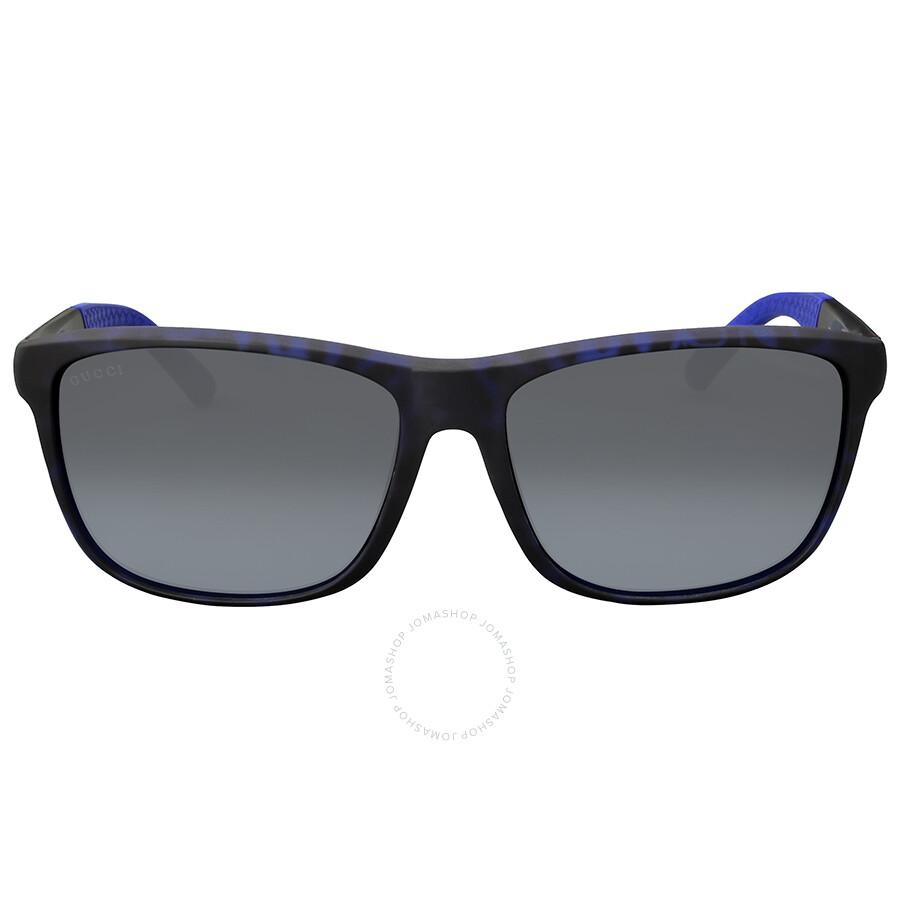 c42afc87998 Gucci Asia Fit Grey Lens Sunglasses - Gucci - Sunglasses - Jomashop