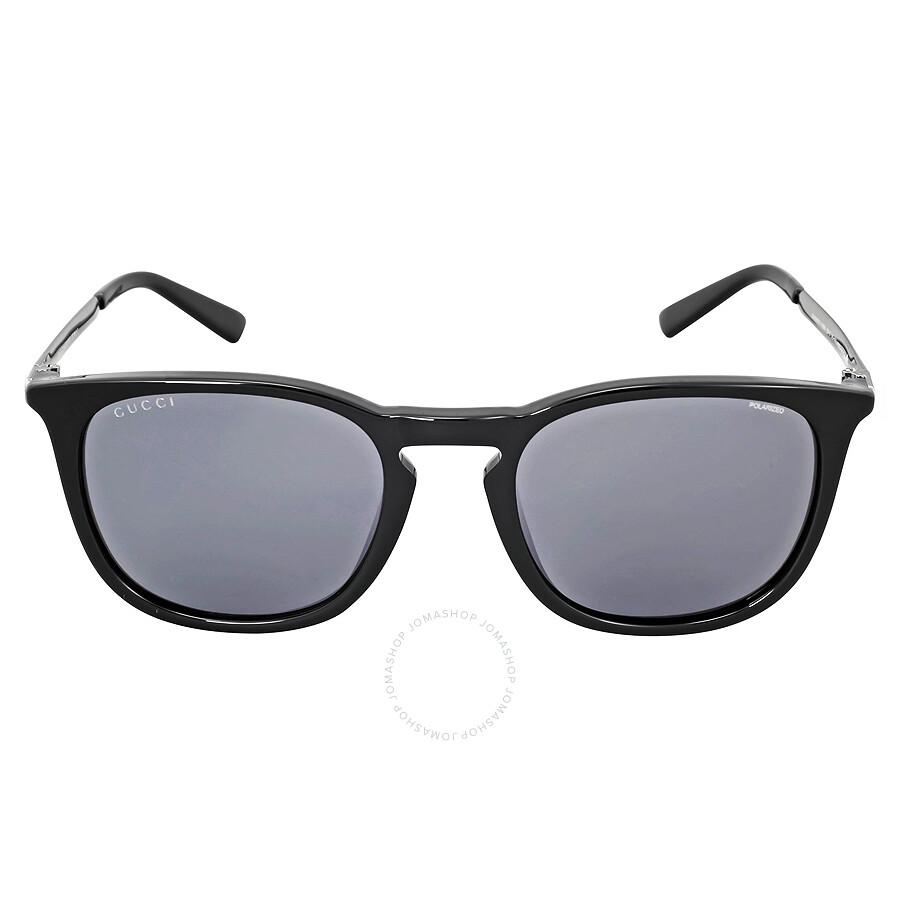 b6d3a43d121 Gucci Asia Fit Grey Polarized Sunglasses GG1142 F SCVSRA - Gucci ...