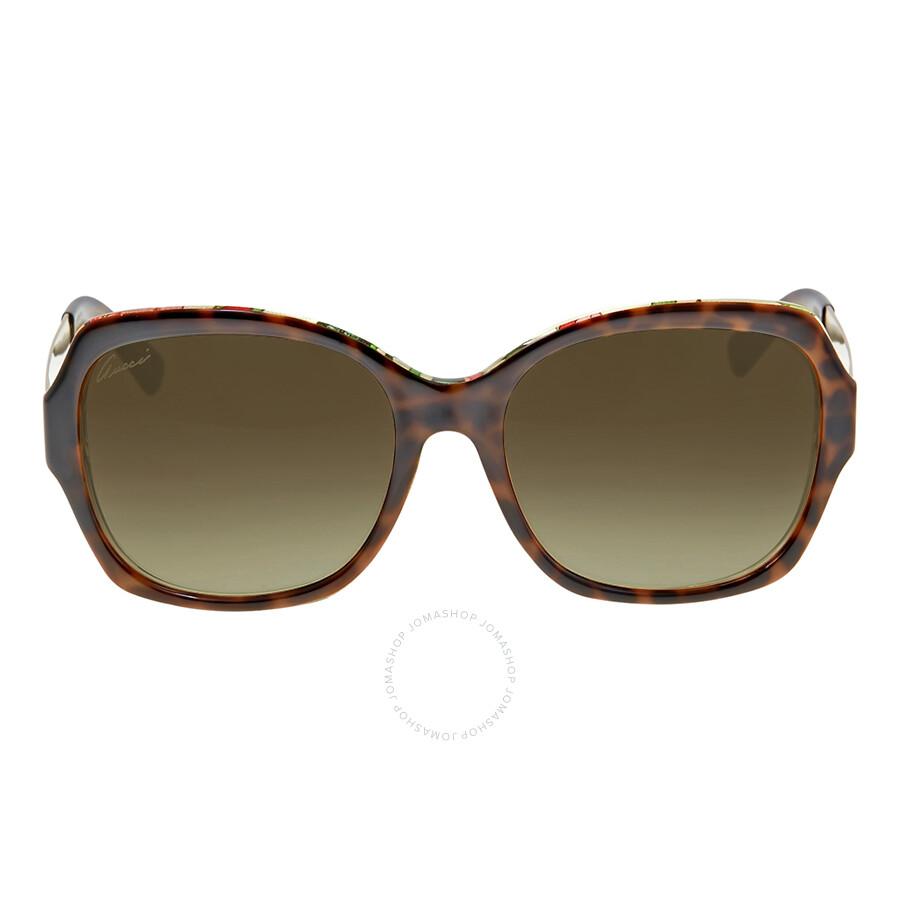 cfafff7bf84 Gucci Oversize Sunglasses