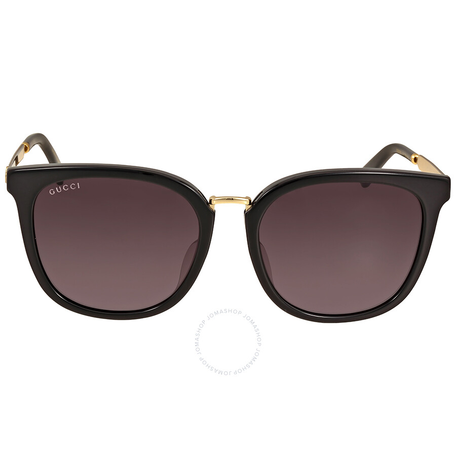 f5b5c0d0643 Gucci Black Acetate Sunglasses - Gucci - Sunglasses - Jomashop