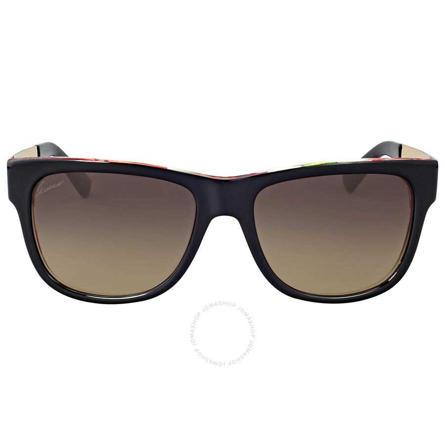 9aaf4715 Gucci Sunglasses Black And Gold - The Gold Picture