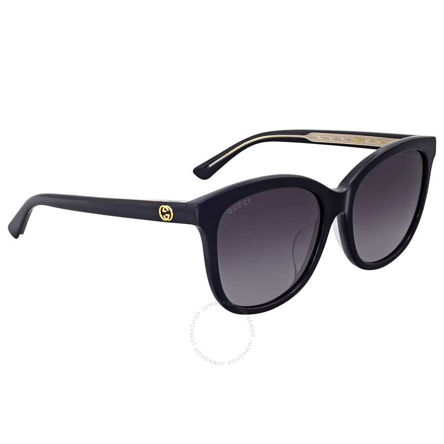 a902b8b43e043 Gucci Black Cat Eye Sunglasses - Gucci - Sunglasses - Jomashop