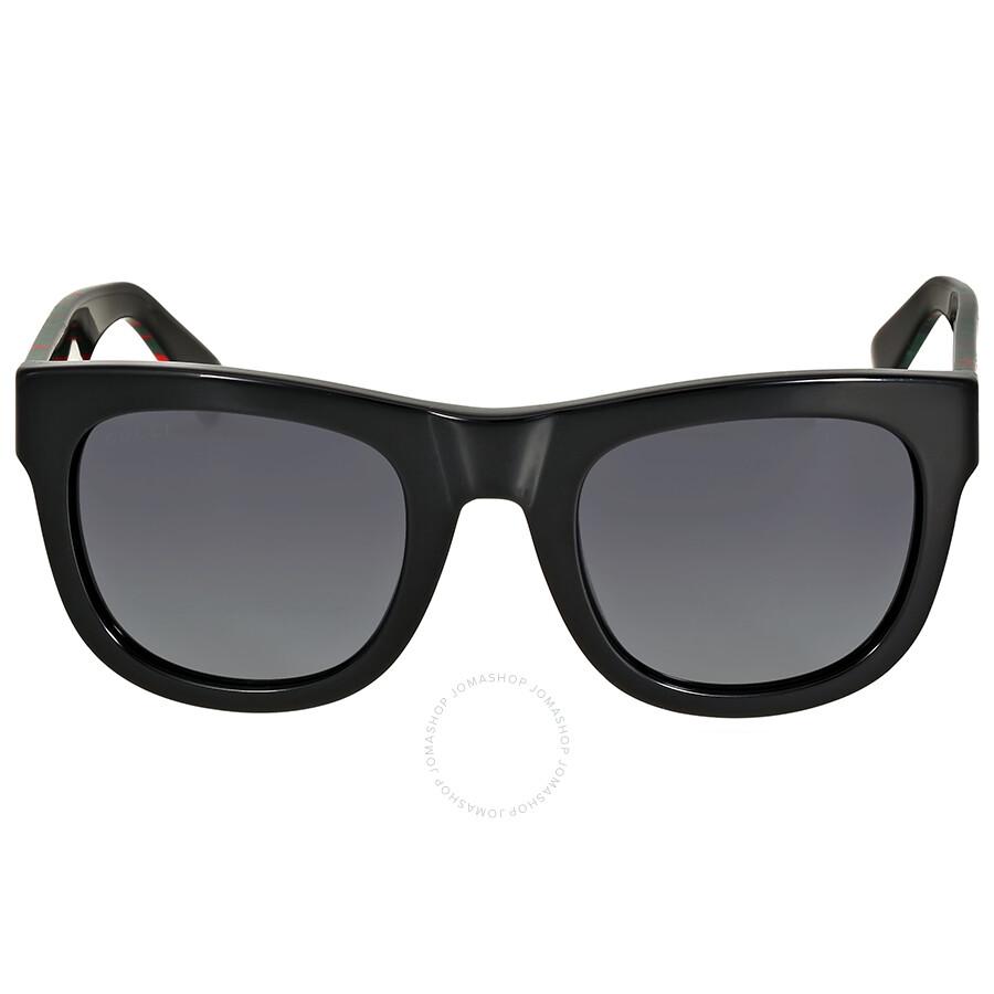 a78cb02623 Gucci Black Multi-Color Wayfarer Sunglasses - Gucci - Sunglasses - Jomashop