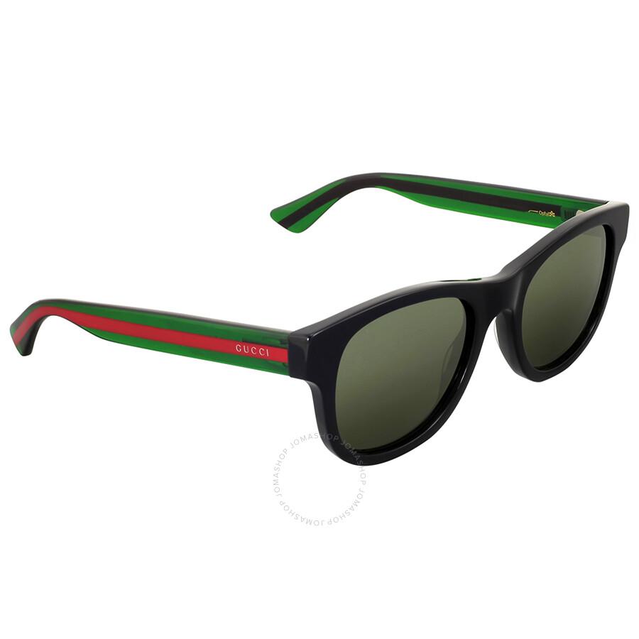 c787360344b Gucci Black Square Acetate Sunglasses - Gucci - Sunglasses - Jomashop