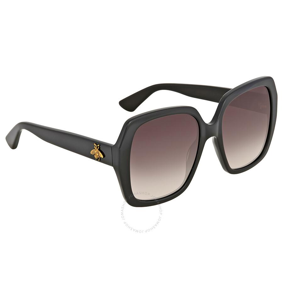 8a42893fce Gucci Black Square Sunglasses - Gucci - Sunglasses - Jomashop