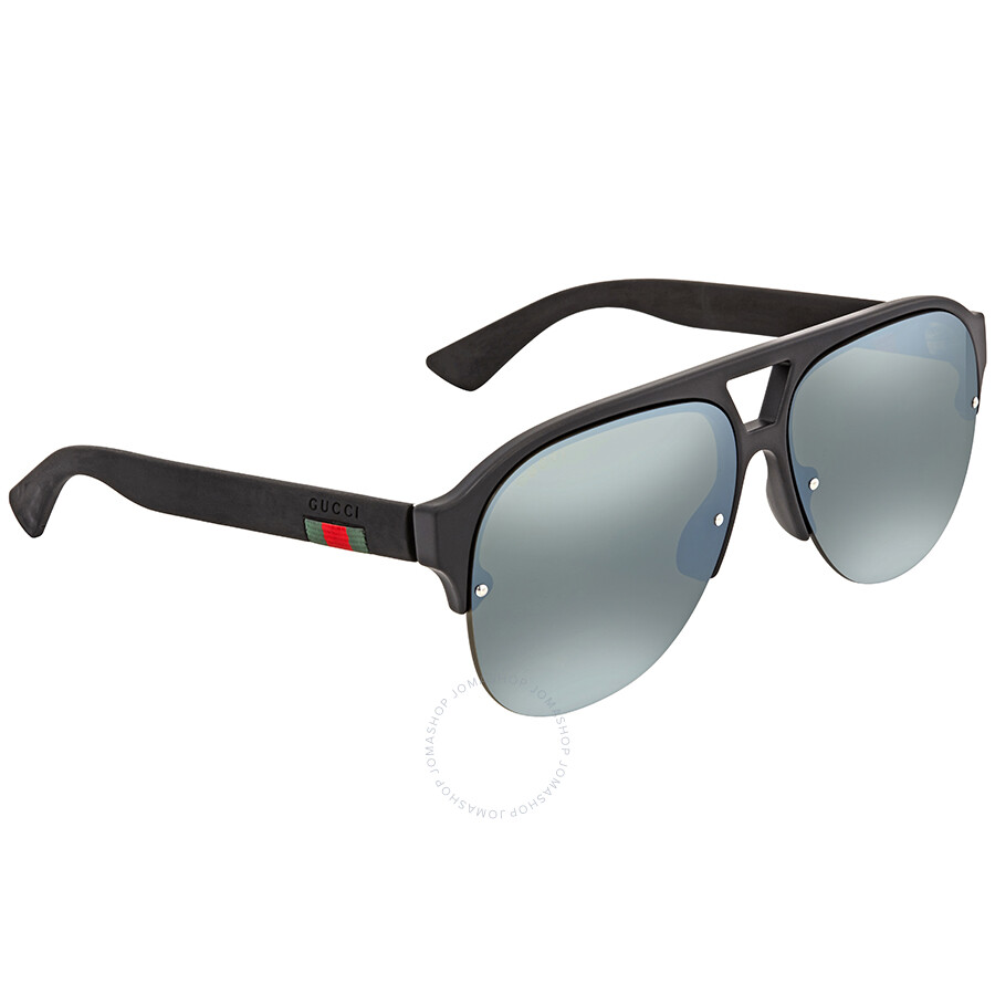 060b00feb9d Gucci Blue Aviator Men s Sunglasses GG0170S 002 59 - Gucci ...
