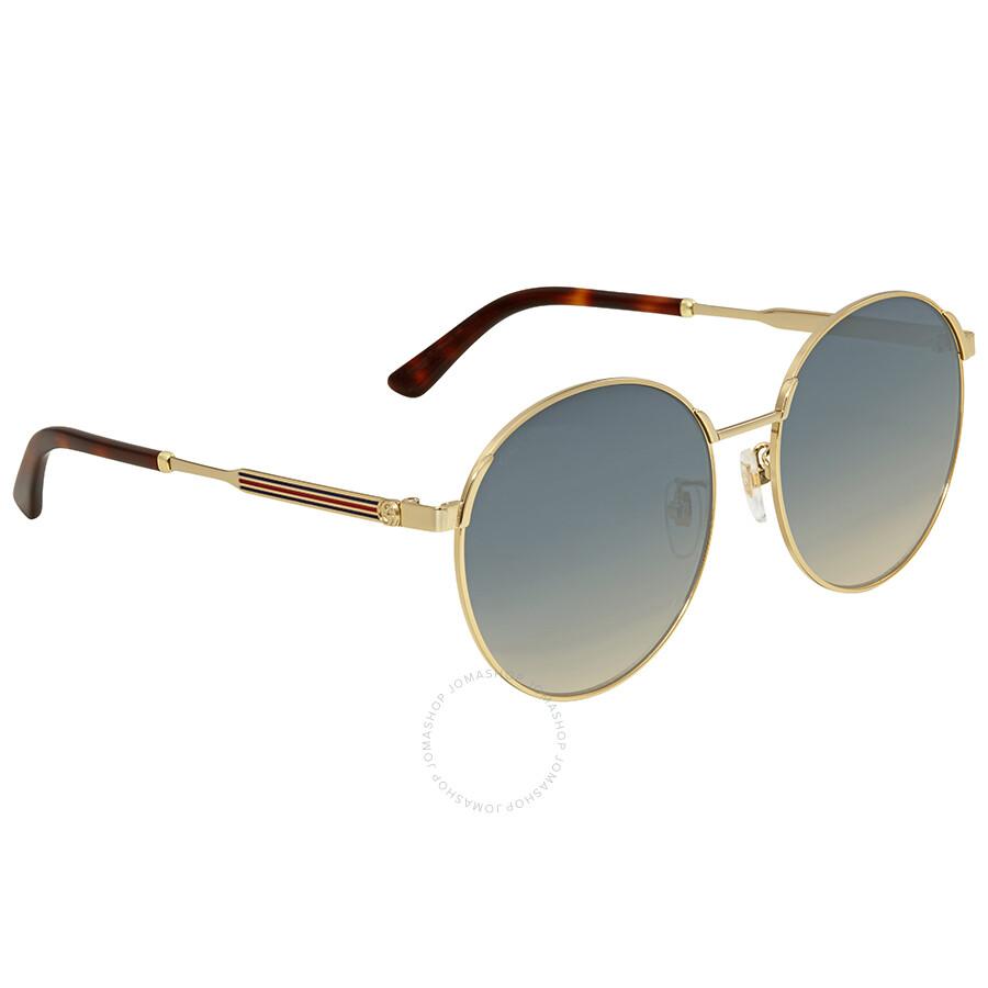 f8d856ddbe Gucci Blue Gradient Sunglasses GG0206SK 005 58 - Gucci - Sunglasses ...