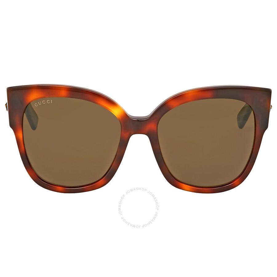 d812c3b3c9 Gucci Brown Acetate Square Sunglasses Gucci Brown Acetate Square Sunglasses  ...