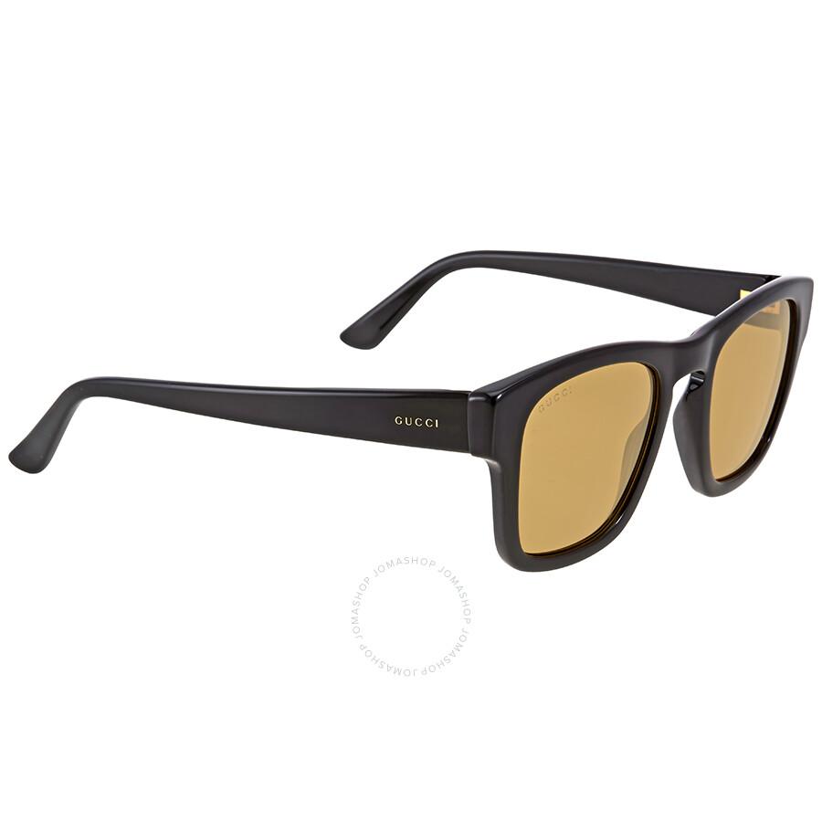 4056c1ca90f Gucci Brown Acetate Square Sunglasses Gucci Brown Acetate Square Sunglasses  ...