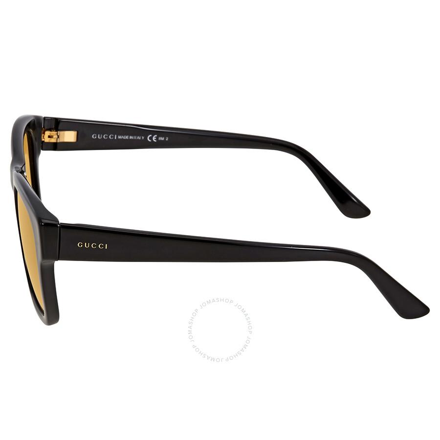 34b2c10a2d3 Gucci Brown Acetate Square Sunglasses - Sunglasses - Jomashop