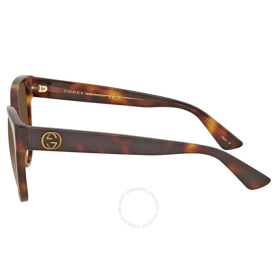 a6719cfd88a Gucci Cat Eye Brown Gradient Sunglasses
